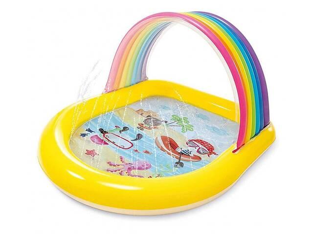 Детский надувной бассейн Intex 57156 147 х 130 х 86 см Радуга- объявление о продаже  в Киеве
