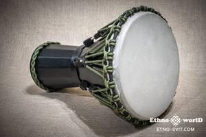 """Djembe Sun 12"""" большой джембе барабан, настройка ключем, дерево, очень крутой звук. НОВОЕ!"""