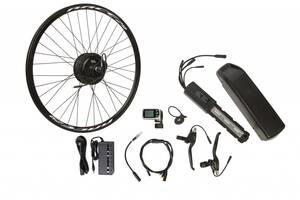 "Электро-вело-набор на раму. Мотор-колесо 26"" зад. редукт. 500Вт 48В 12.5Ач 20A встроен. контр,ручка"