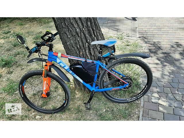 купить бу Электро Велосипед Cube Aim Pro 27.5 в Запорожье