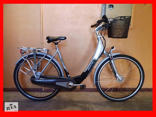 купить бу Електро-велосипед електро-велосипед РУЧКА ГАЗУ! як новий! Гарантія! в Полтаве