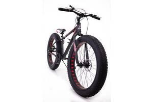 Фет Байк-Гірський Велосипеди S800 MAX HAMMER EXTRIME Колеса 26 & rsquo; & rsquo; х4,0. Алюмінієва рама 19 Японія Shimano.