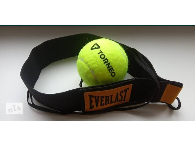 продам Fight Ball Everlast (Файтбол) Боевой Мяч на резинке. Тренажер Файт бол бу в Киеве
