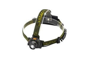 Самый яркий и мощный универсальный налобный LED фонарь на голову для рыбалки Light  1505 A XPE аккумуляторный