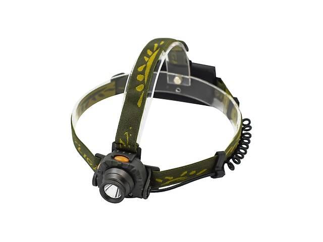 продам Самый яркий и мощный универсальный налобный LED фонарь на голову для рыбалки Light  1505 A XPE аккумуляторный бу в Харькове