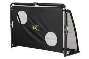 Футбольные ворота EXIT Маэстро 180х120 см сложные черные
