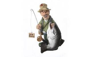 Фигурка рыбак The Comical World of Stratford 600031 18 см.