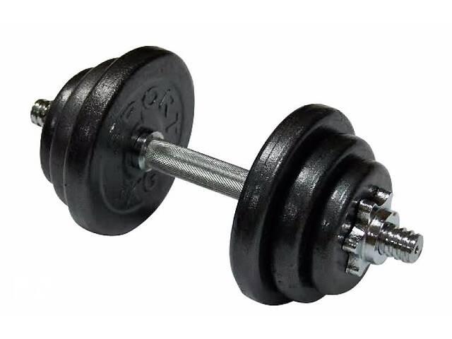 продам Гантель наборная стальная Newt Home 13,5 кг (TI-968-746-4-1) бу в Полтаве