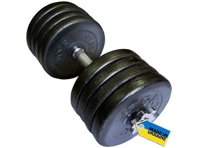 бу Гантель наборная стальная Newt Home 42 кг (TI-968-745-42-1) в Полтаві