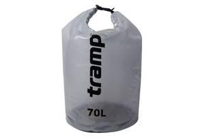 Гермомешок Tramp TRA-108 70 л, прозрачный