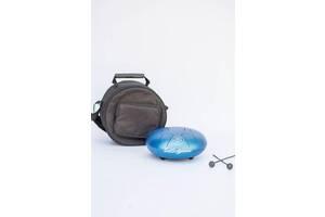 Глюкофон Happy drum BST 30 см голубой с сумкой 530438