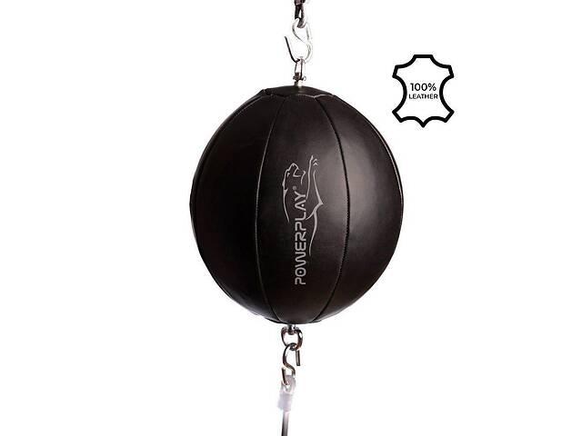 купить бу Груша боксерська на розтяжках PowerPlay SR Чорна 3062 SKL24-238257 в Одессе