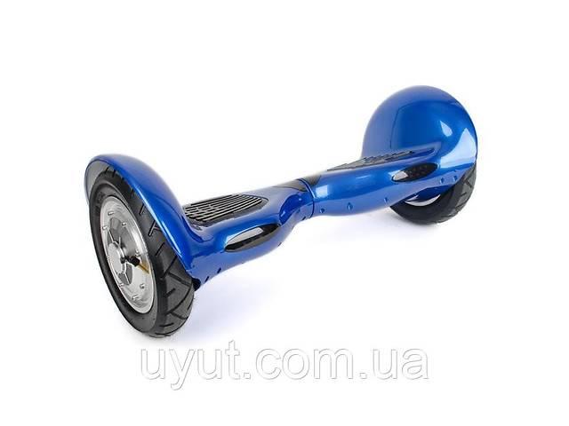 "продам Гироборд-скутер электрический. 4400 мАч, колеса 10"". Blue INTERTOOL SS-1002 бу в Дубно"
