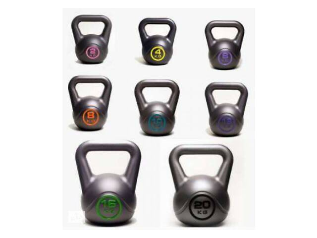 Гиря (гирі, гантели, гантелі) Спортивные Гири 2,4,6,8,10,12,16,20 кг.