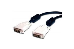 Кабель мультимедийный DVI to DVI 24+1pin, 10.0m Atcom (10702)