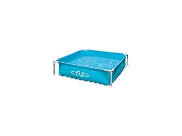 купить бу Каркасный бассейн Intex 57173, 122 х 122 х 30 см, голубой Код товара: 57173 в Одессе