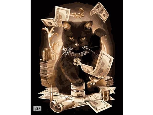 """бу Картина по номерам. Art Craft """"Зажиточный кот"""" 40*50 см 11932 в Одессе"""
