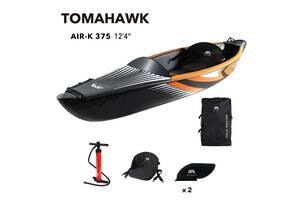 """Каяк надувной Aqua Marina Tomahawk 12.4"""", 2021, Air-K 375"""