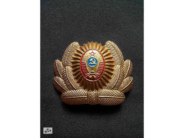 Кокарда советской милиции, советских времен