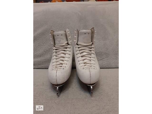 бу Ковзани RISPORT EXCELLENCE, 215 розмір, леза MK, білі, по устілці 20,5 см. в Вінниці