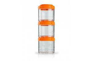 Контейнер спортивний BlenderBottle GoStak 3 Pak Orange Original SKL24-277236