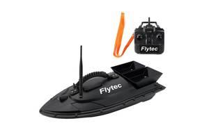 Кораблик для прикормки рыбы Flytec HQ2011 на радиоуправлении Черный (100622)