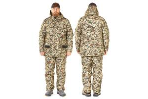 Костюм зимний охотничий Norfin Hunting Trapper Wind XL Камуфляж/Пиксель 714104-XL