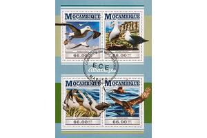 Красивые марки фауна Птицы