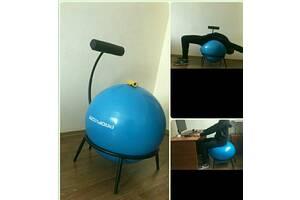 Кресло с фитнес-мячом для улучшения осанки