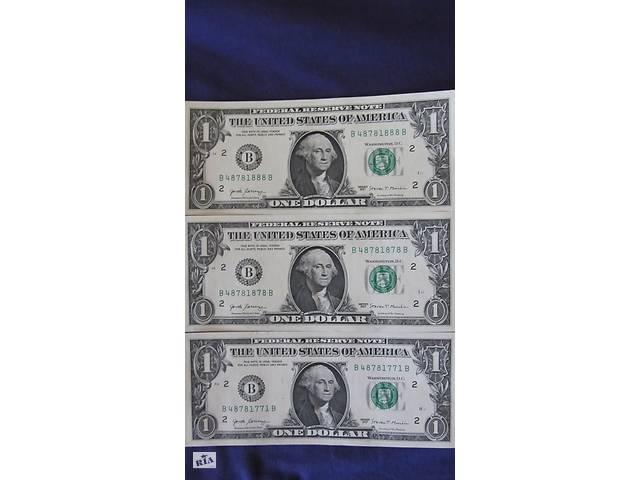 бу Купюра коллекционная 1 доллар США на Подарок! Сумы! в Сумах