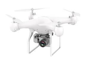 Квадрокоптер HDRC H12 с камерой на радиоуправлении и Wi-Fi Белый (gr_011207)