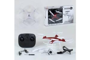Квадрокоптер на пульте управления CX - 54 W гироскоп, камера 2МП, батарея 3.6v, wi-fi красный