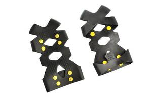 Ледоступы для обуви Supretto фиксируемые (на картонке) (5654)