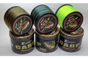 Волосінь Winner Carp Expert 1000м 0.30-0.60 мм