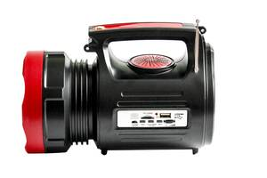 Фонарь-прожектор Yajia YJ-1908T 10W+22LED USB Power Bank/FM/Solar