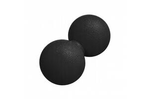 Массажный мяч двойной Springos Lacrosse Double Ball 6 x 12 см SKL41-291241