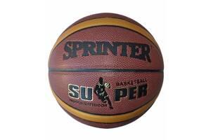 Мяч баскетбольный Sprinter PU-12 Size 7 (spr_09019)