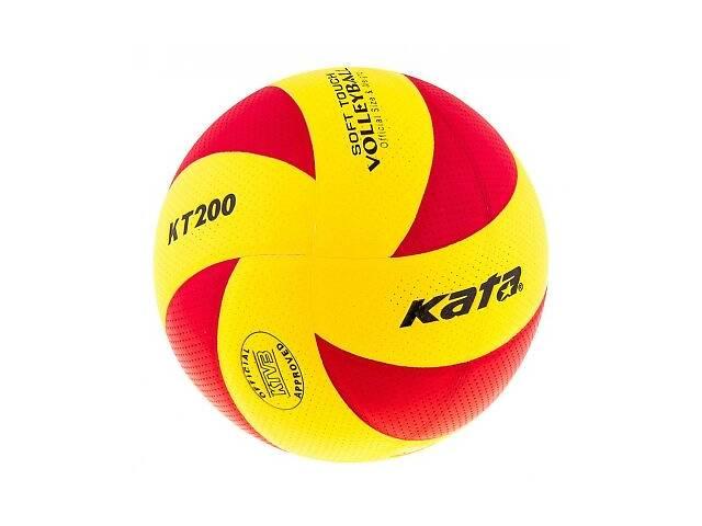 бу Мяч волейбольный Kata 200 PU красно-желтый SKL11-282511 в Киеве