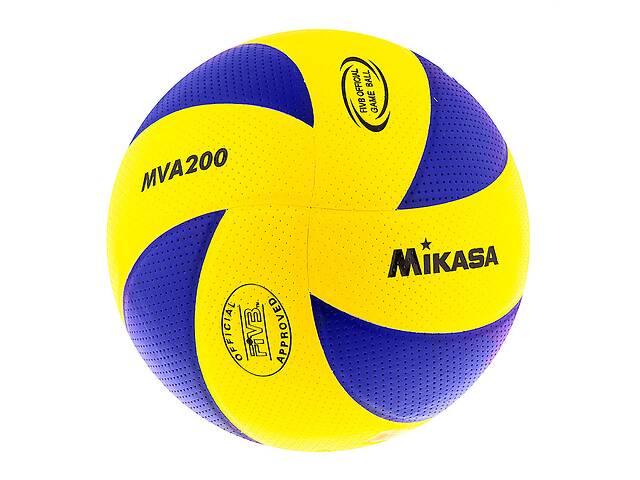 купить бу Мяч волейбольный Mikasa MVA200 PU SKL11-282520 в Одессе