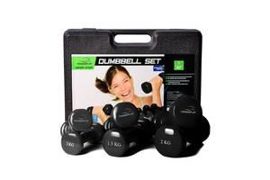 Набір гантелей в Кейсі 9 кг PowerPlay 4121 SKL24-277270