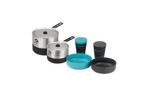 Набір посуду Sea To Summit Sigma Cookset 2.2 Pacific Blue/Silver (STS APOTSIGSET2.2)