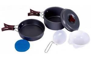 Набор посуды для пикника KingCamp Climber 1 Light Grey