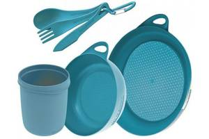 Набор посуды Sea To Summit Delta Camp Set (Bowl, Plate, Mug, Cutlery) STS ADSETPB, синий