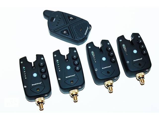 купить бу Набір сигналізаторів клювання FA211-4 з пейджером (функція АНТИВОР) в Вінниці
