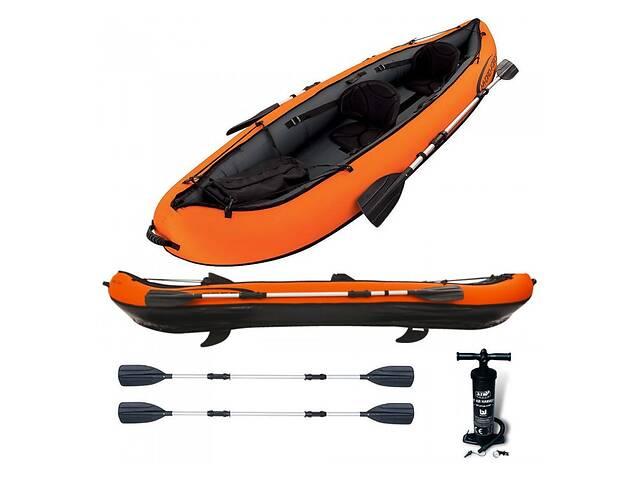 Надувная лодка-байдарка с веслом Intex 65052 VENTURA KAYAK двухместная- объявление о продаже   в Украине