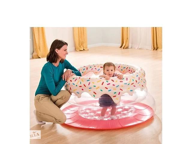 Надувний ігровий центр - манеж Intex «Пончик» 48476, 127*61 см Код товару: 48476- объявление о продаже  в Одесі