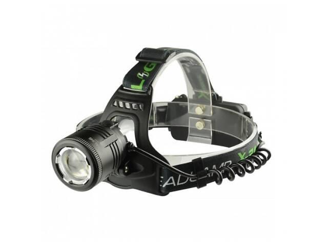 Налобный фонарь BL POLICE 2177 T6 Pro х2 Li-ion 18650 Zoom (45778-IM)