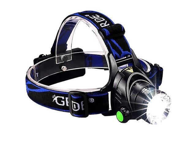 Налобный фонарь Police BL-6699 (Cree-T6, 1200 люмен, 2x18650) (44912-IM)