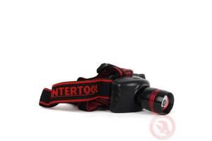 Налобный фонарь светодиодный сверхмощный Intertool LB-0303