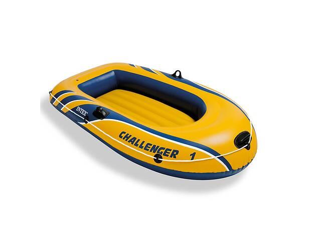 бу Одноместная надувная лодка Intex 68365 Challenger 1 193x108x38 см (int_68365) в Києві
